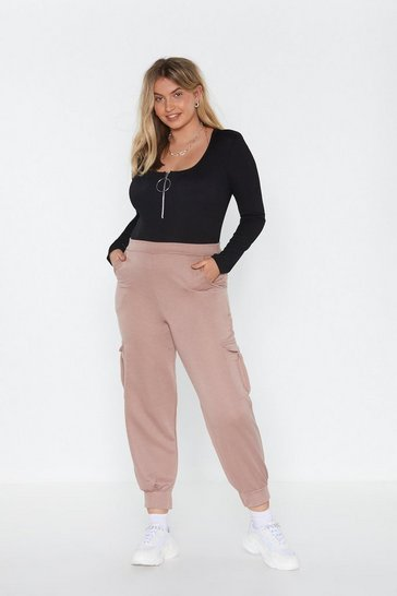 Womens Sand MS Pocket Cargo Joggers