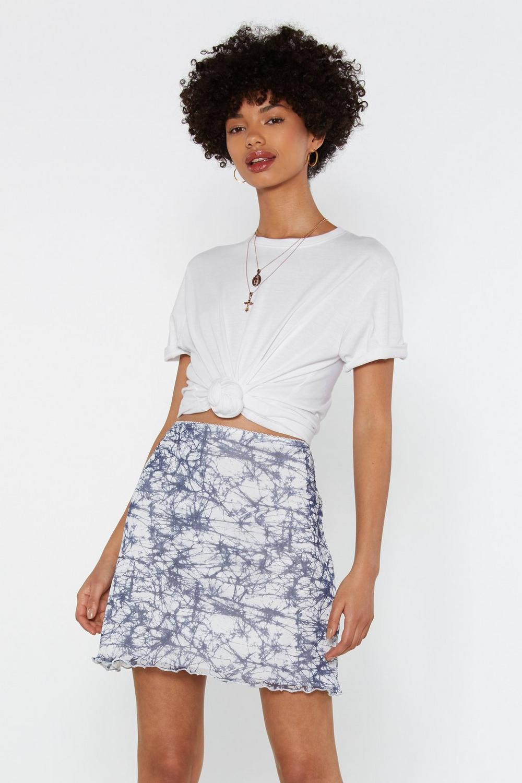 Tie Dye And Bye Mini Skirt by Nasty Gal