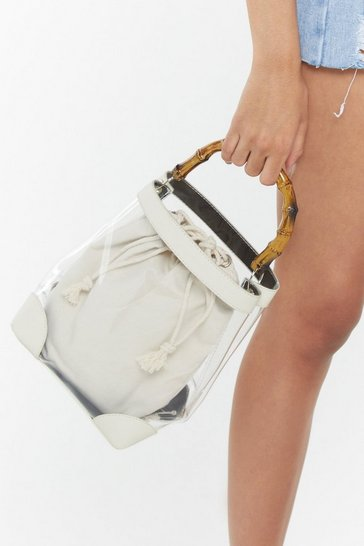 Womens Sand WANT Bamboo's That Girl Perspex Bag