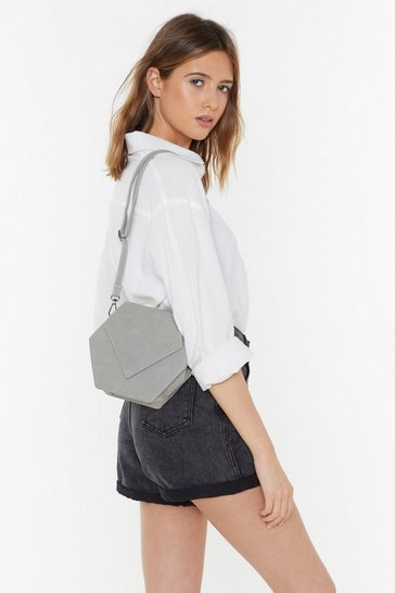Womens Sage WANT Hexagon For Good Crossbody Bag
