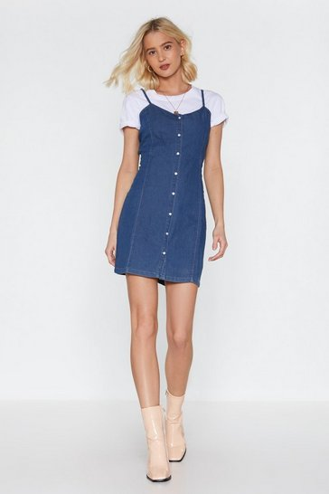 Indigo Beautiful Day Denim Mini Dress