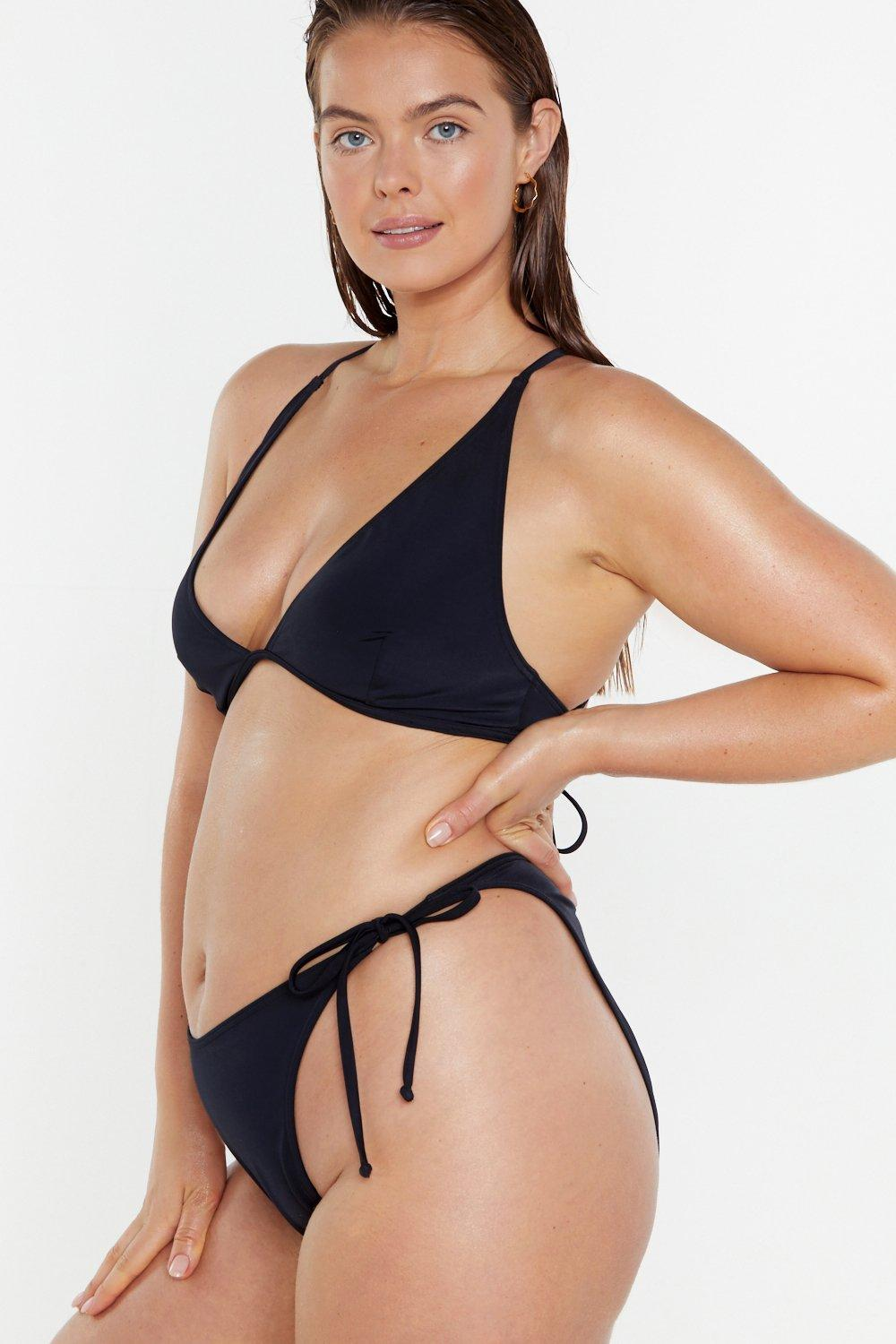 f794db9f12 Strappy By the Sea High-Leg Bikini Bottoms | Shop Clothes at Nasty Gal!