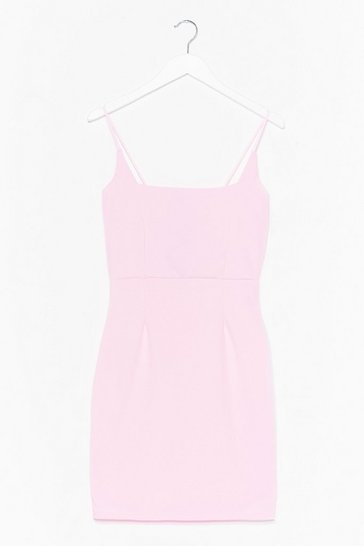 Pink Know Your Angles Mini Dress