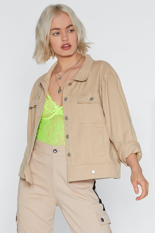 Denim Jacket by Nasty Gal