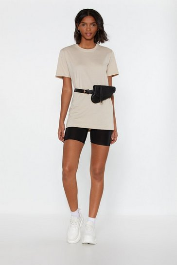 Womens Sand Dream Team Tee and Biker Shorts