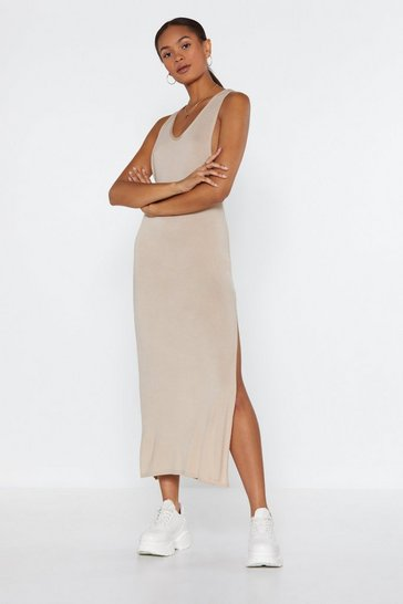 Womens Stone My Ride or Side Midi Dress