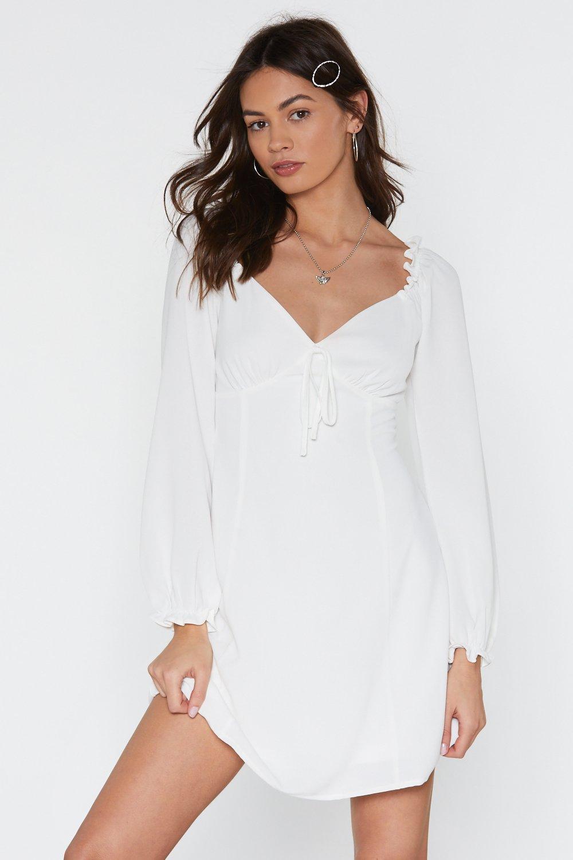 True Romance Cupped Mini Dress