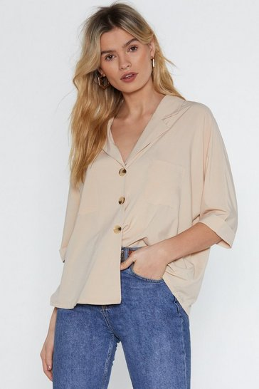 Womens Stone V Cute Relaxed Shirt
