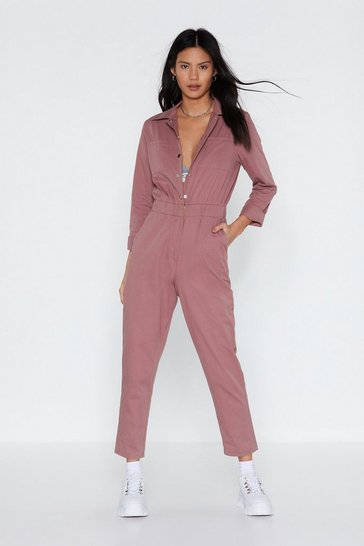 Womens Rose Complete Look Boilersuit