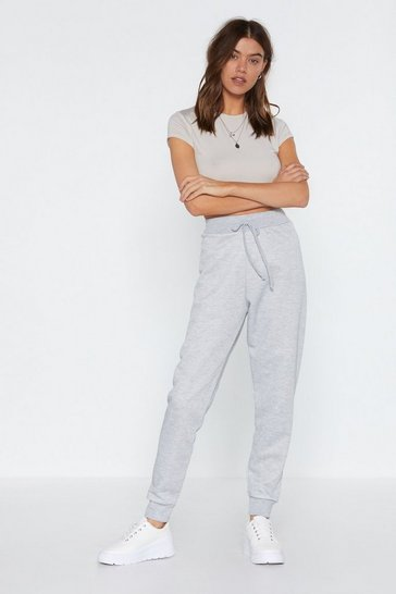 Womens Grey Jog Your Memory Jogger Pants