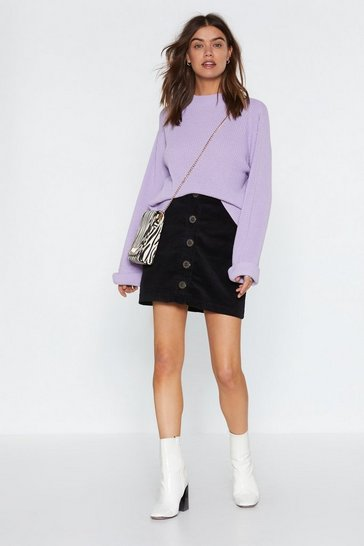 Lilac Fisherman Jumper