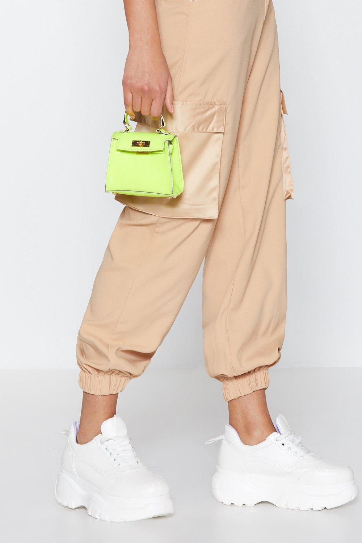 Want Neon It Tonight Mini Crossbody Bag Clothes At Nasty Gal