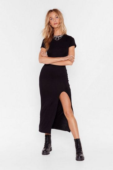 Black Maxed Out Maxi Dress