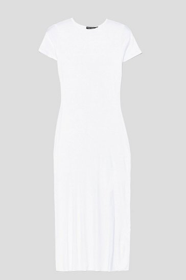 White Maxed Out Maxi Dress