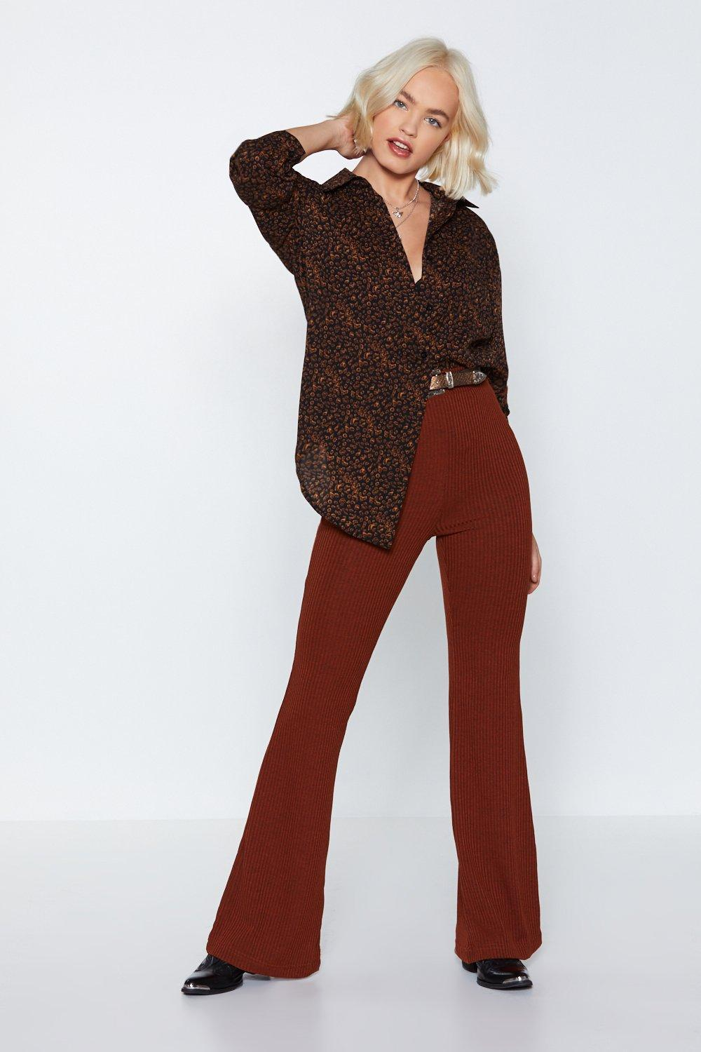 Pet Peeve Leopard Shirt by Nasty Gal