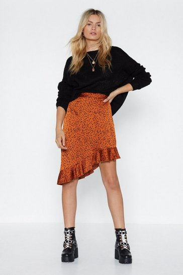 Womens Ginger On My Side Polka Dot Skirt