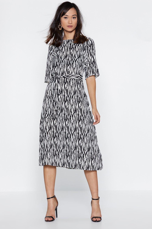 00c9204ceeb Zebra Crossing Midi Dress | Shop Clothes at Nasty Gal!