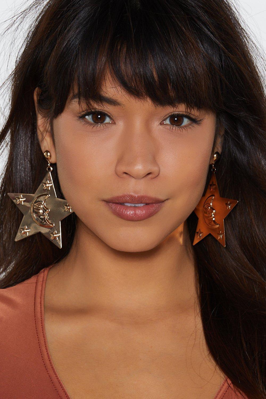 Look To The Sky Star Earrings by Nasty Gal