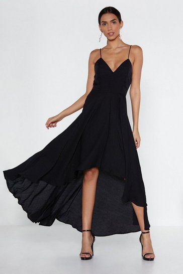 Womens Black Rule the Dancefloor Dress