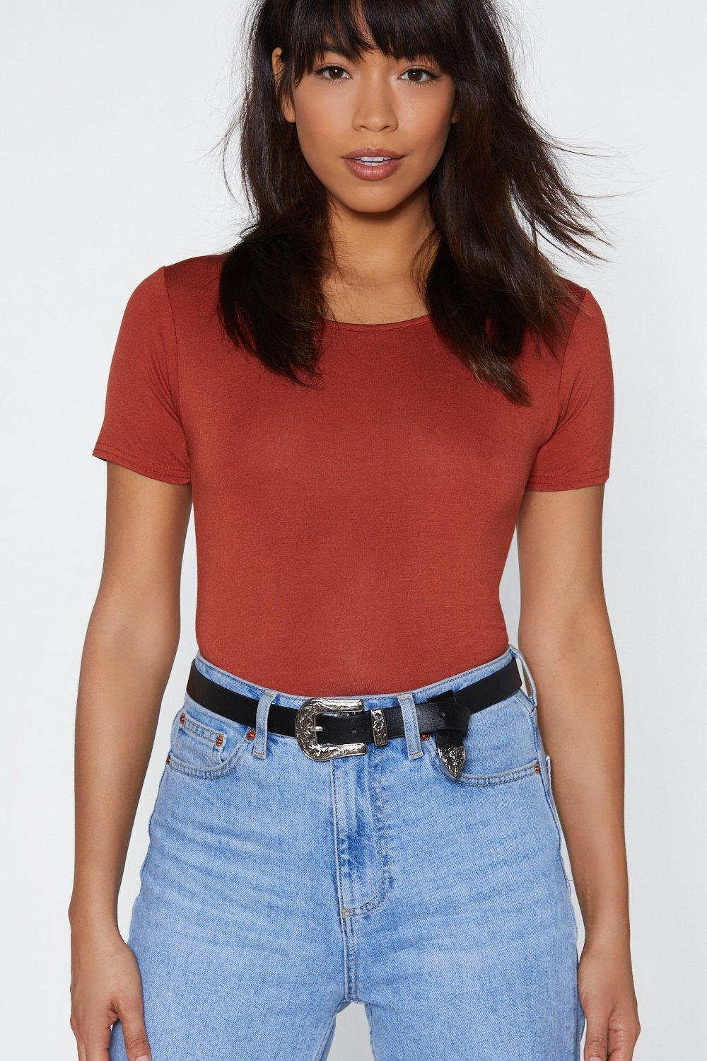 Why Have the West Faux Leather Belt | Nasty Gal