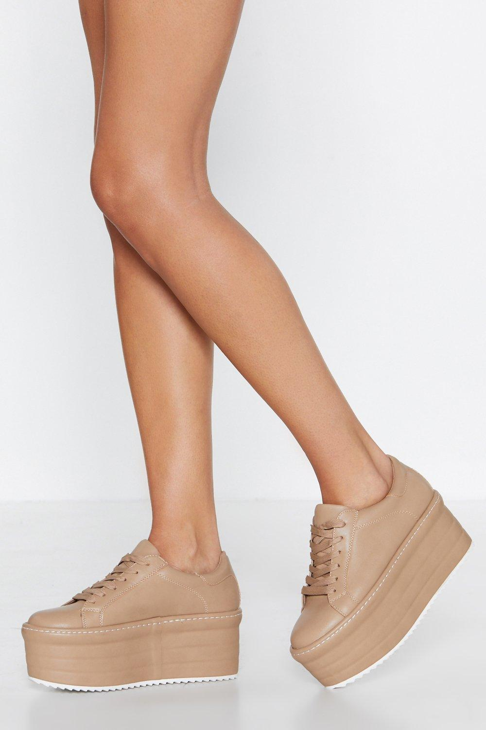 quality design f5c38 acd87 Sky High Platform Sneaker | Shop Clothes at Nasty Gal!