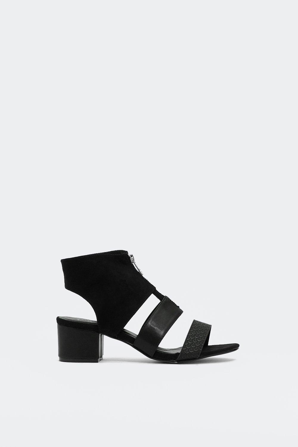 What the Croc Cut Out Sandal | Shop Clothes at Nasty Gal!