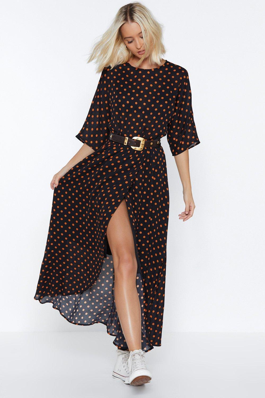 53dedfa9b61 Bye Bye Love Polka Dot Dress