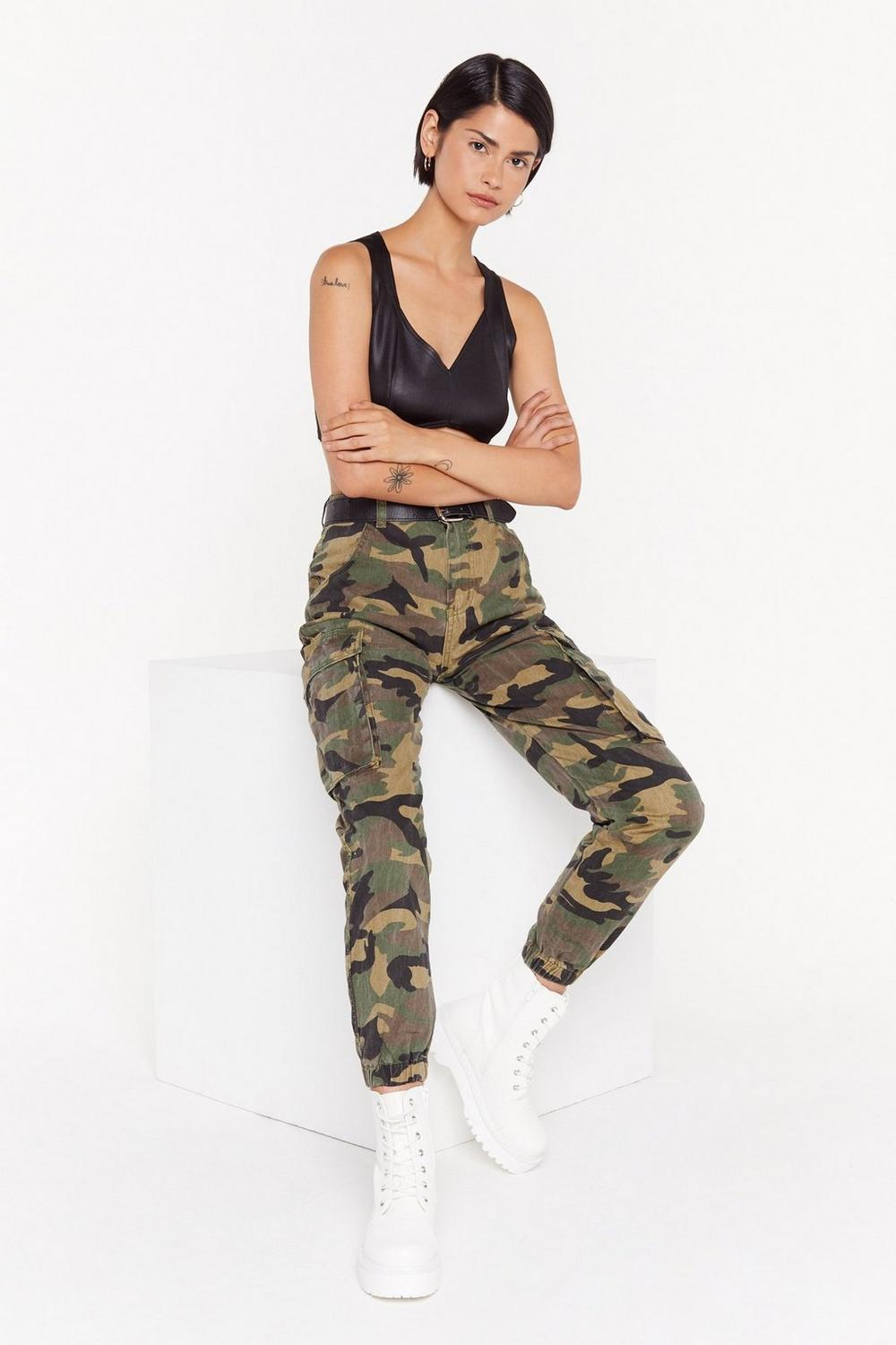 Action Woman Camo Pants  2717d034f86