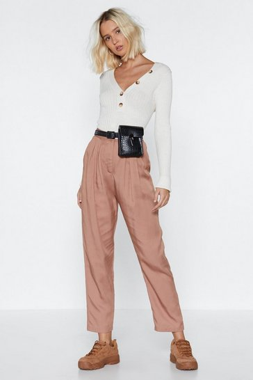 Rose Gather Together High-Waisted Pants