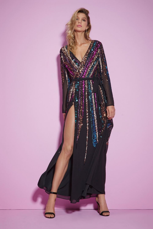 bcf2830d7c2 Nasty Gal Studio For Your Best Moves Sequin Dress