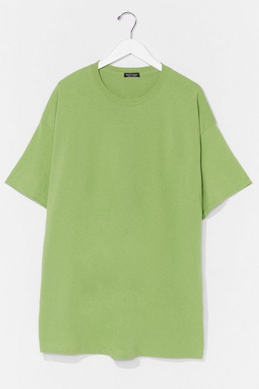 Olive Easy Does It Tee Dress