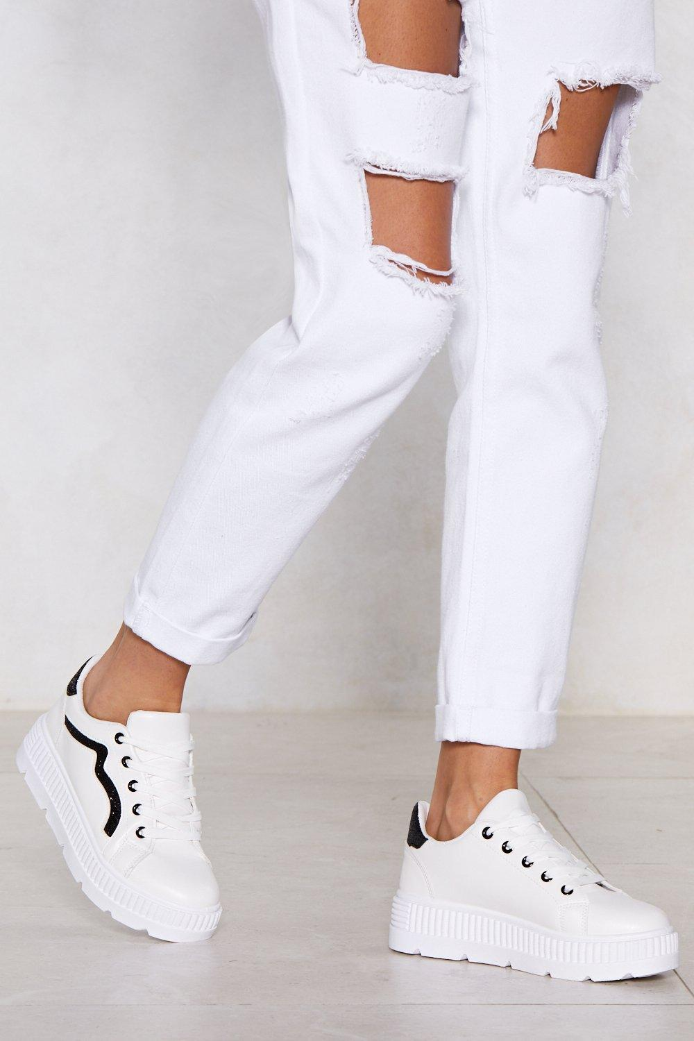 the best attitude 4fdc0 68c1b My Heart and Sole Platform Sneakers | Shop Clothes at Nasty Gal!