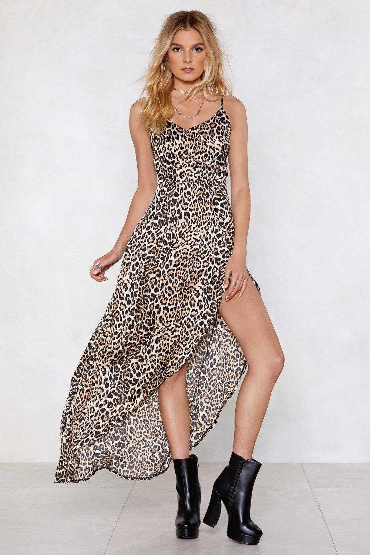 6867d87be990 Animal Instincts Leopard Dress | Shop Clothes at Nasty Gal!
