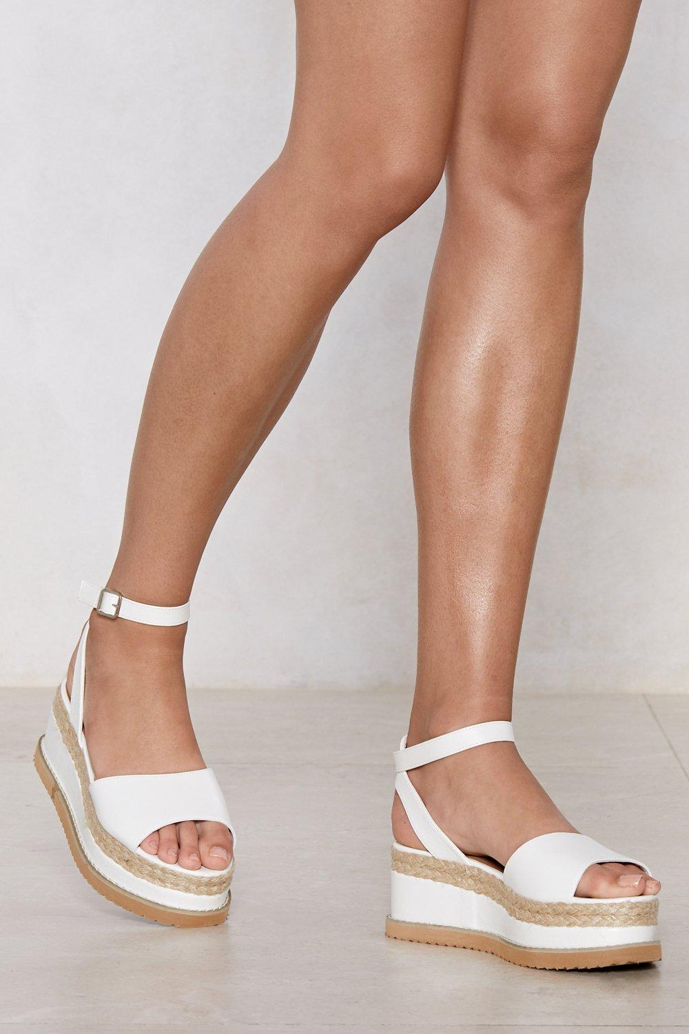 dc50948bc43 If You Can t Have It All Espadrille Platform Sandal