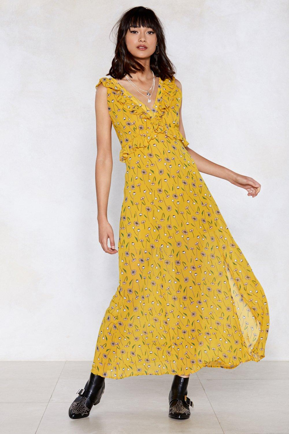 f364270cbd1c4 Once and Floral Maxi Dress | Shop Clothes at Nasty Gal!