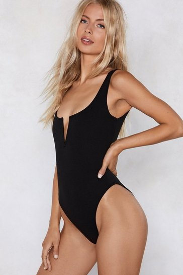 Womens Black Another Notch on Your Belt Bodysuit