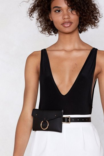 Black WANT Circle of Life Belt Bag