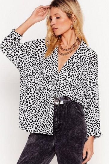 White I'm Dotty About You Dalmatian Shirt