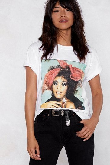 Womens White It's Whitney Bitch Tee