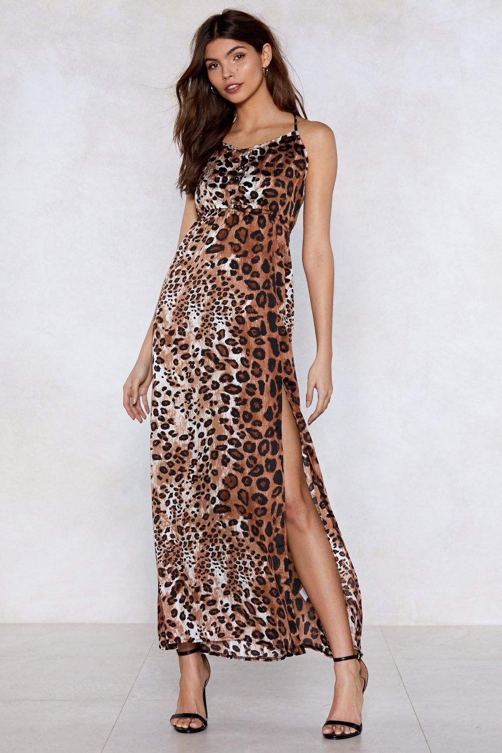 c955230285a Ferocious To The Maxi Leopard Dress Clothes At Nasty Gal
