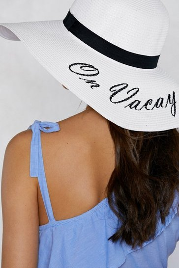 1ea02be49 On Vacay Straw Hat