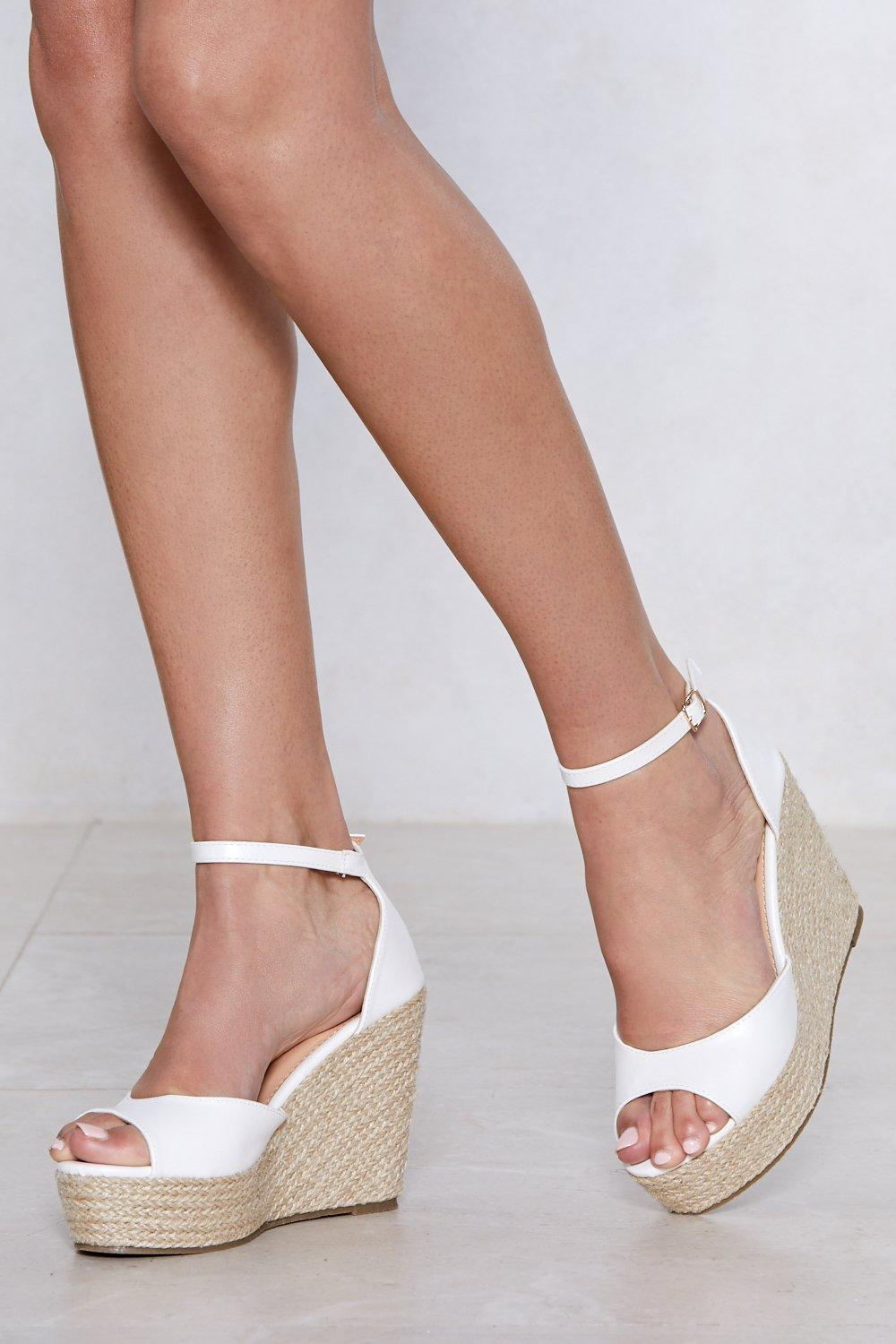 2d409c7c662 Sunny Afternoon Espadrille Wedge Sandal | Shop Clothes at Nasty Gal!