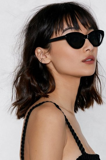 Black Eye Need These Cat-Eye Sunglasses