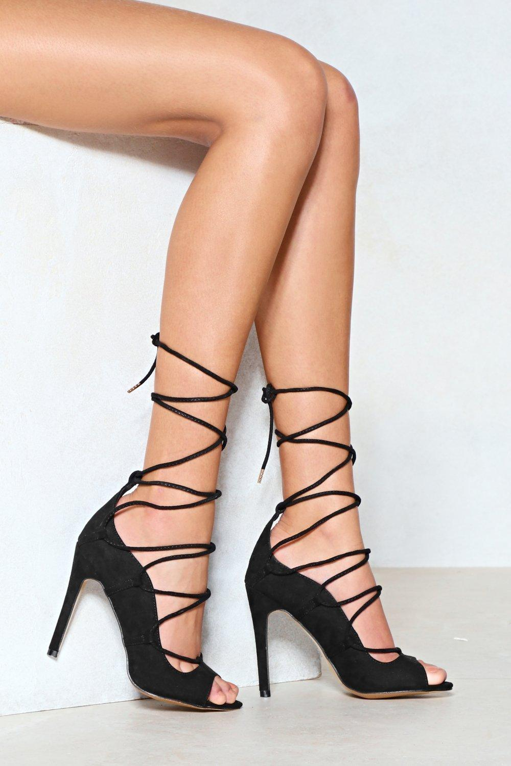 Cheap Lace Up Heels