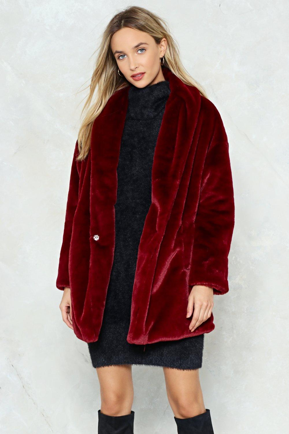 baby luxury fashion reasonably priced Anything Fur My Baby Faux Fur Coat | Shop Clothes at Nasty Gal!