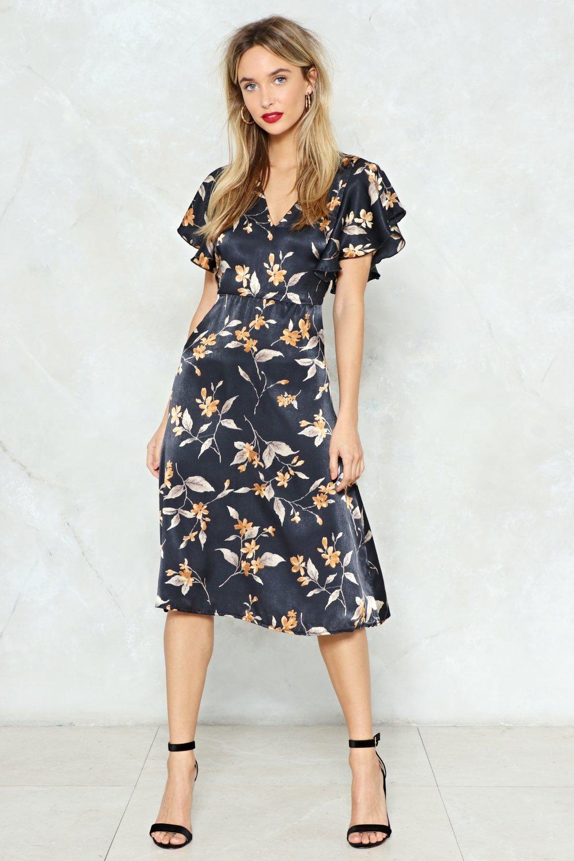 b5c5704ae4f7 Hey There Bud Floral Midi Dress