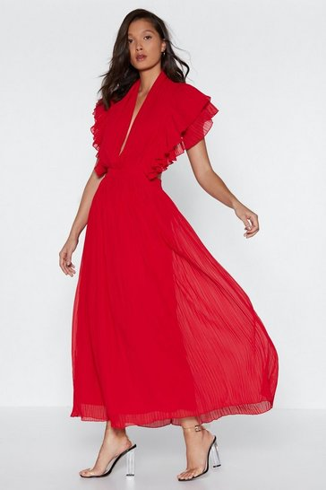 Red You Little Devil Maxi Dress