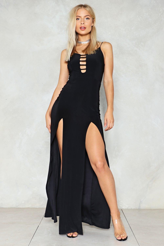 castello ostello sequenza  Let's Split Maxi Dress | Nasty Gal