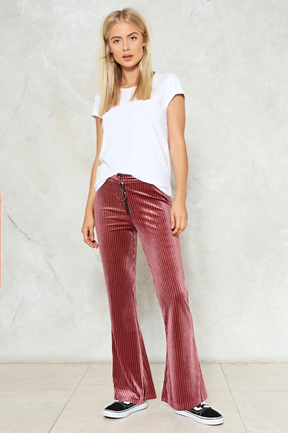 durable service great look extremely unique Flare and Sqaure Velvet Pants | Shop Clothes at Nasty Gal!