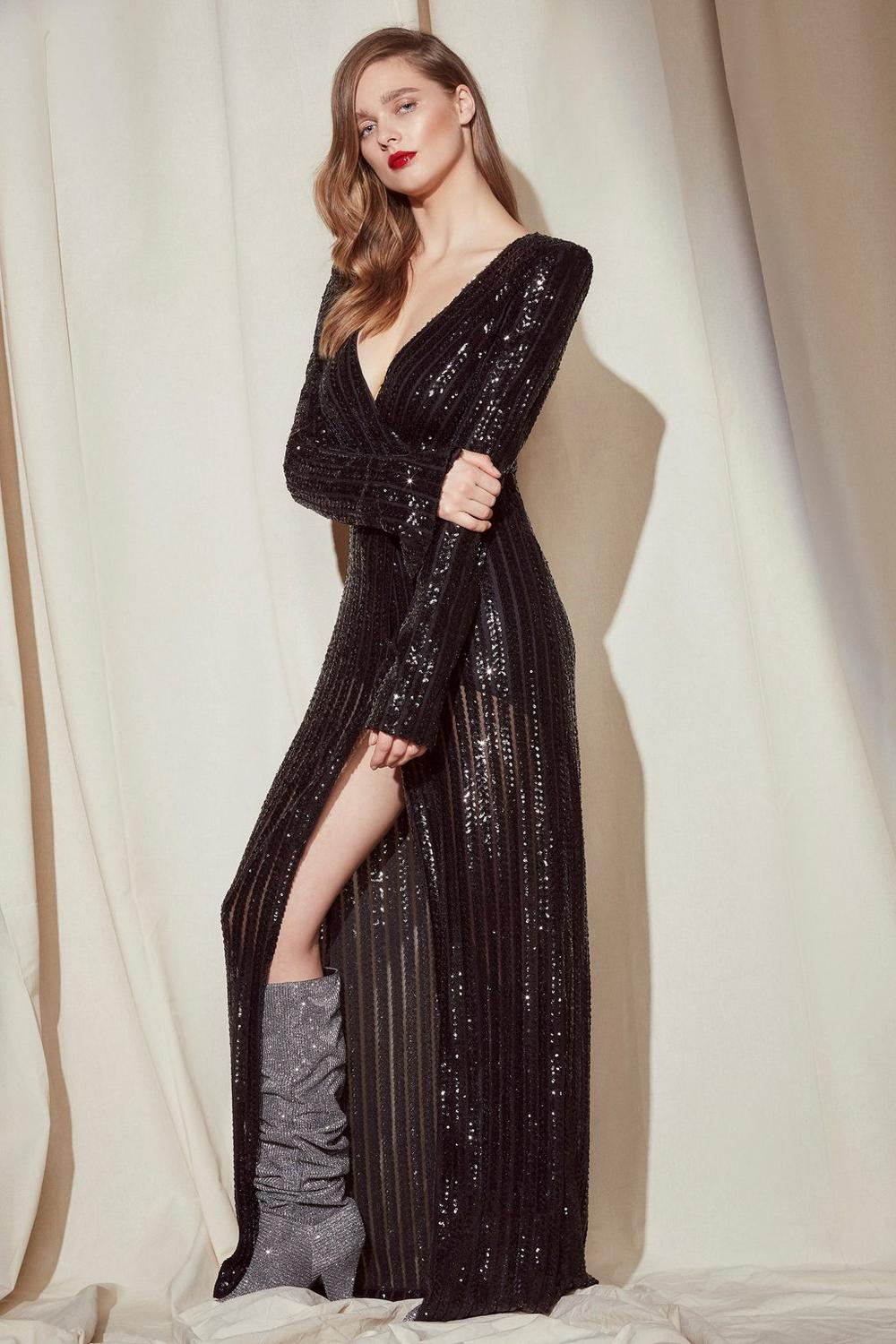 great variety styles price 2019 best sell Nasty Gal Studio Diana Sequin Maxi Dress | Shop Clothes at Nasty Gal!
